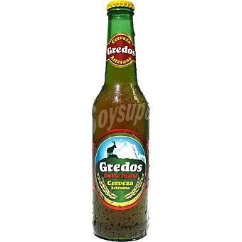 GREDOS Cerveza rubia Doble Malta artesana de ávila botella 33 cl 33 cl