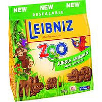 Leibniz Galletas Zoo Jungle Animals Bolsa 100 g