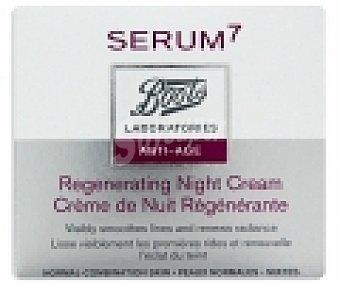 BOOTS SERUM7 Crema antiedad noche, para piel normal a mixta 50 Mililitros