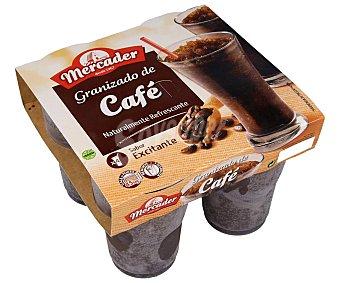 Mercader Granizado de café, elaborado sin gluten 4 x 190 ml