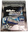 Recambio maquinilla de afeitar turbo Blister 5 u Gillette Mach3
