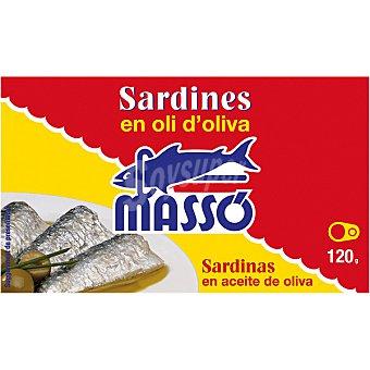 Massó Sardinas en aceite de oliva Lata 85 g neto escurrido