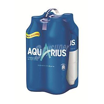 AQUARIUS Bebida Isotónica de Limón Pack 4x1,5L