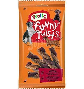Frolic Snack perro queso-buey 140 g