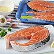 Rodaja de salmón 400.0 g. Calidad y Origen Carrefour