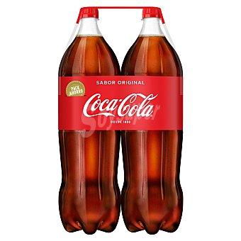Coca-Cola Refresco de cola Pack 2 x 2 l