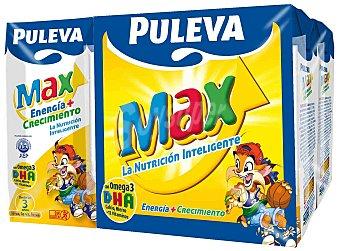 Puleva Puleva Max. Preparado Lácteo Energía y Crecimiento (pack 6x200ml) 1,2 l