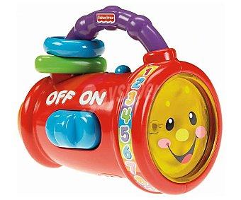 Fisher-Price Linterna parlanchina de aprendizaje con luces y sonidos Laugh and Learn 1 unidad