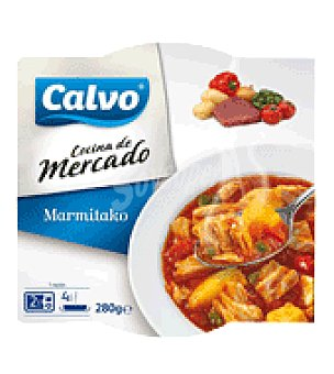 Calvo Marmitako de atún plato microondable 280 g