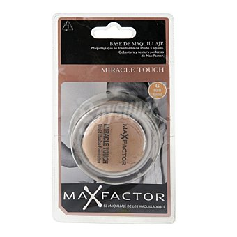 Max Factor Base Liquida Miracle Touch 045 Warm Almnd 1 ud