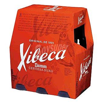 Xibeca Cerveza 6 botellines de 25 cl