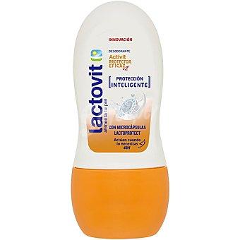 Lactovit Activit desodorante roll-on protector con microcapsulas lactoprotect 48 h envase 50 ml Envase 50 ml
