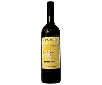 La Llanura Vino tinto gran reserva con DO La mancha Botella de 75 cl