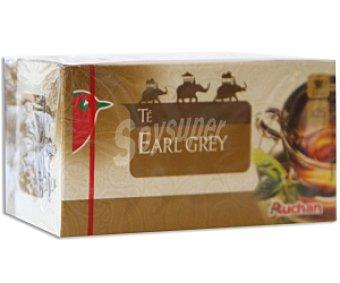 Auchan Té Earl Grey (Té Negro y Aroma de Bergamota) 25 Unidades 43,75 Gramos