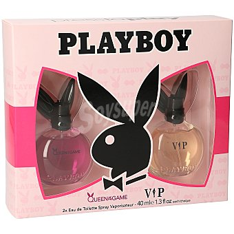 Playboy Fragrances Pack colonias queen of the game 40 ml + vip 40 ml 40 ml + 40 ml