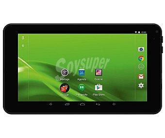 "Selecline Tablets con pantalla de 7'' selecline 871023 (producto económico alcampo), negro, procesador: Quad Core, Ram: 512MB, almacenamiento: 8GB ampliable mediante microsd, resolución: 800 x 600px, cámara frontal, Android 5.1 7,0"" wifi MW7526L"
