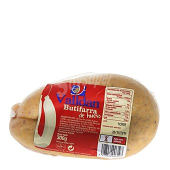 Valldan Butifarra de huevo collar 300 g