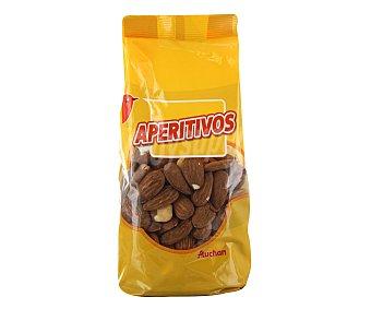 Auchan Almendras con cáscara tostadas sin sal 200 g
