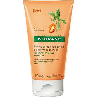 Klorane Balsamo para despues del champu a la manteca de Mango para cabello seco tubo 150 ml Tubo 150 ml
