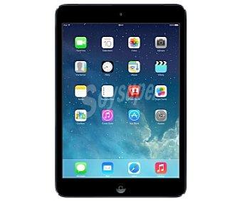 """iPAD MINI GRIS ESPACIAL Tablets con pantalla de 7,9"""" apple ipad mini MF432TY/A gris espacial, procesador: A5, Ram: 512Mb, almacenamiento: 16GB, resolución: IPS 1.024 x 768, cámara frontal (1,2Mp) y trasera (5Mp), grabación de vídeo: 1080p, Wi-Fi, Bluetooth, iOS 6.1, (238,00€/UN ) Tablet 7,9"""" wifi"""