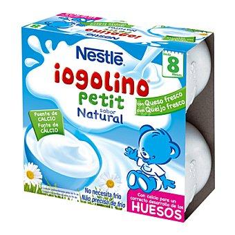 Nestlé Iogilino Petit natural Pack 4x100 g