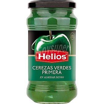 Helios Cerezas verdes en almíbar Frasco 410 g