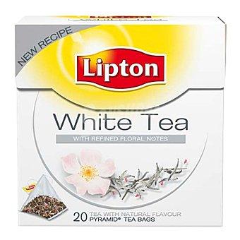 Lipton Té blanco piramides 20 ud