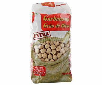Auchan Garbanzos mejicanos 500 gramos