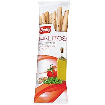 Quely Palitos mediterráneos con tomate ajo y orégano Bolsa 50 g