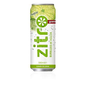 Zitro Refresco de lima&limón Lata 33 cl