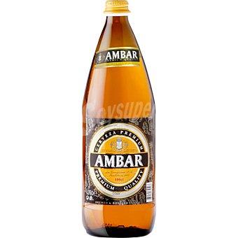 Ambar Cerveza Botella 1 litro
