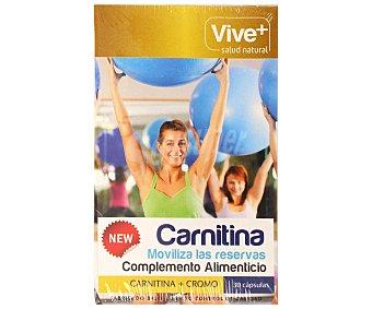 Vive+ Complemento alimenticio a base de carnitina (ayuda a quemar grasas) 30 c