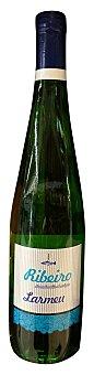 LARMEU Vino blanco riveiro Botella de 750 cc