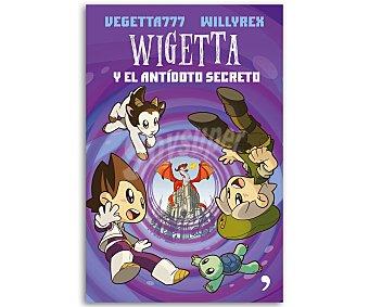 Temas de Hoy Libro Wigetta y el antídoto secreto, VEGETTA777 y willyrex. Género: juvenil. Editorial Temas de hoy