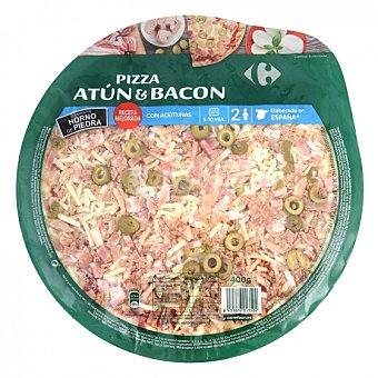 Carrefour Pizza de atún y bacon Carrefour 400 g