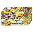 Galletas sonrisas chocolate -20% azúcares Biscuits Galicia 400 g Biscuits Galicia