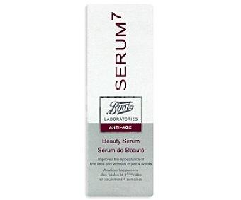 BOOTS SERUM7 Serum de belleza, antiedad 30 Mililitros