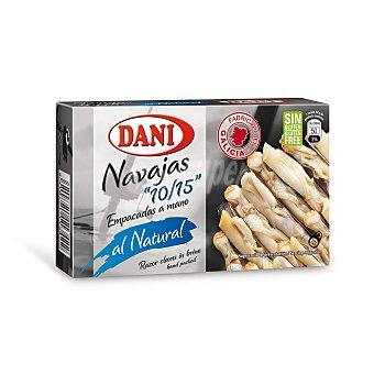Dani Navajas al natural 10/15 piezas lata 63 grs.