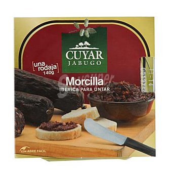 Jabugo de Ley Morcilla iberica curada para untar tarrina 140 g