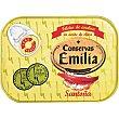 Filetes de anchoa del Cantábrico en aceite de oliva Lata 50 g neto escurrido Emilia