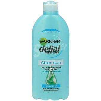 Delial Garnier After sun con leche hidratante calmante con aloe vera hidratación 24h Frasco 400 ml