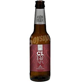 CIERVA BLOND Ale Cerveza rubia de Cantabria botella 33 cl Botella 33 cl