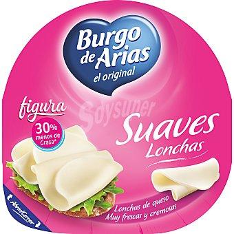Burgo de Arias Lonchas de queso frescas y cremosas figura 125 g