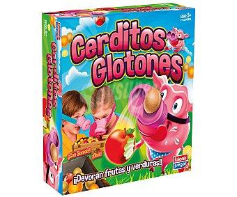 Falomir juegos Juego de mesa infantil de hablidad Cerditos Glotones, de 2 a 4 jugadores 1 unidad
