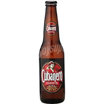 Cubanero fuerte Cerveza rubia 100% cubana botella 33 cl Botella 33 cl