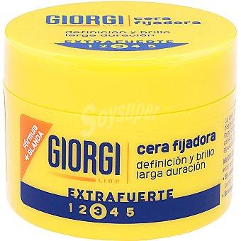 Giorgi Line Cera fijadora, fijación extrafuerte, definición y brillo larga duración 45 ml