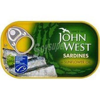 John West Sardinas en aceite girasol 120 GRS