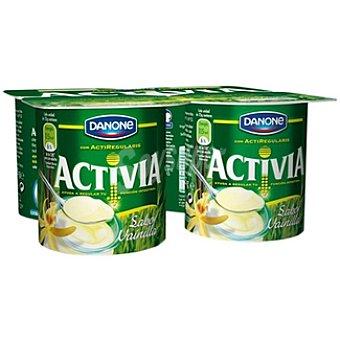 Activia Danone Yogur con sabor a vainilla Unidades 125 g