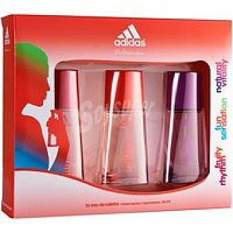 ADIDAS Colonia para mujer Sport 3X 30 ml