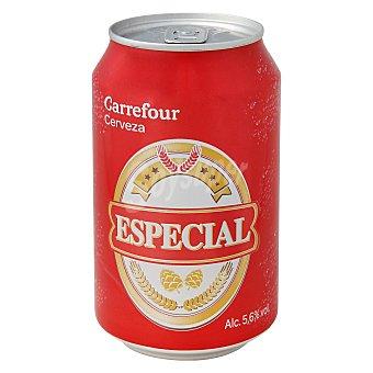 Carrefour Cerveza Especial  Lata de 33 cl